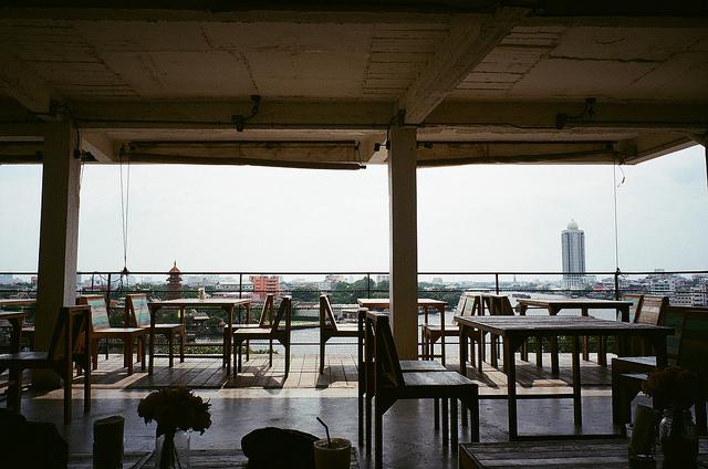 リーズナブルなカフェでゴージャスな景色を。バンコクおすすめのカフェ。River View Guesthouse Bangkok リバービューゲストハウス
