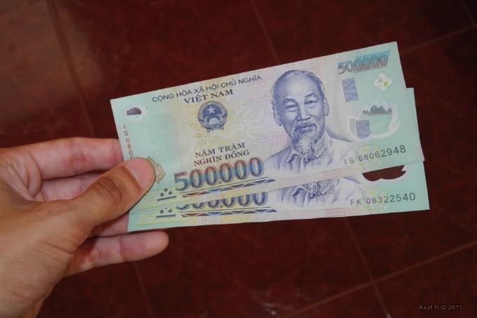 世界一簡単なベトナムドン(VND)と日本円(JPY)の換算方法