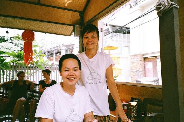 きっかけは、バンコク・カオサン通りのマッサージ店。タイ古式マッサージは受けるのもやるのも面白い。